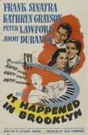 """It Happened in Brooklyn"" movie poster"