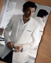The white dinner jacket