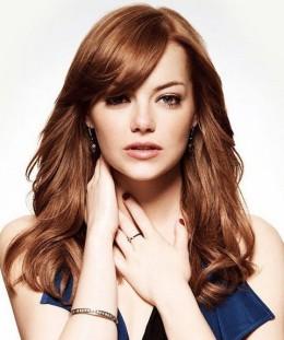 Emma-Stone-Hairstyles-Fantastic-Loose-Curls
